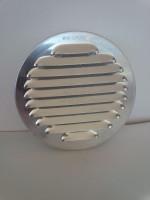 Grille de ventilation ALU ronde diamètre 100mm