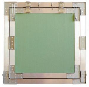 trappes de visite plaque de platre invisible cadre aluminium 50x50cm proxipro. Black Bedroom Furniture Sets. Home Design Ideas