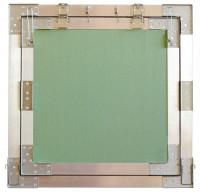 Trappes de visite Plaque de platre - Invisible - cadre aluminium 100x100cm